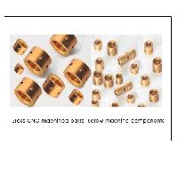 Brass CNC machined parts  Screw machine components