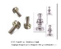 Stainless Steel Forged Fittings CNC machined forgings Brass CNC machined parts CNC machined turned components Forged Components Stainless Steel components and elbows te