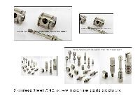 Stainless Steel CNC screw machine parts products
