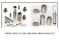Stainless steel CNC machined parts Turned components